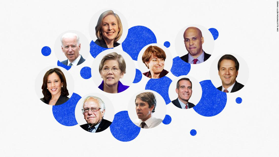There's a new No. 1 among 2020 Democrats