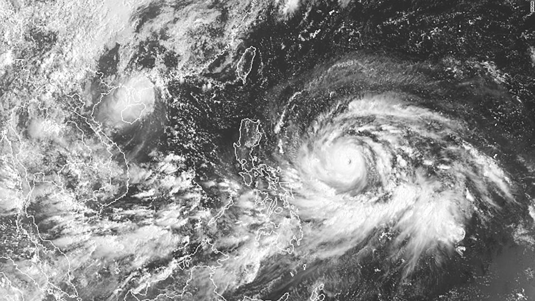 Super Typhoon Mangkhut Philippines Evacuates Thousands