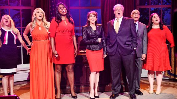 """Our pick: """"Saturday Night Live""""<br />""""SNL"""" has been nominated in this category every year since the outstanding variety series race was split into two categories. It scored its first win last year after previous winners """"Inside Amy Schumer"""" and """"Key & Peele"""" ended their runs and left the door open on their way out. With yet another hot year behind it, """"SNL"""" is going to solidify its place as the one to beat in this race.<br />Other nominees: """"Tracey Ullman's Show,"""" """"At Home with Amy Sedaris,"""" """"Drunk History,"""" """"I Love You, America,"""" """"Portlandia"""""""