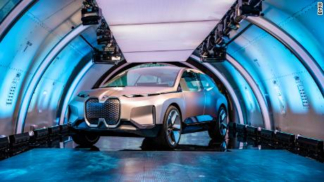 Bmw Unveils Self Driving Electric Car Planned For 2021 Cnn