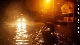 Scores of people in New Bern, North Carolina, have been rescued