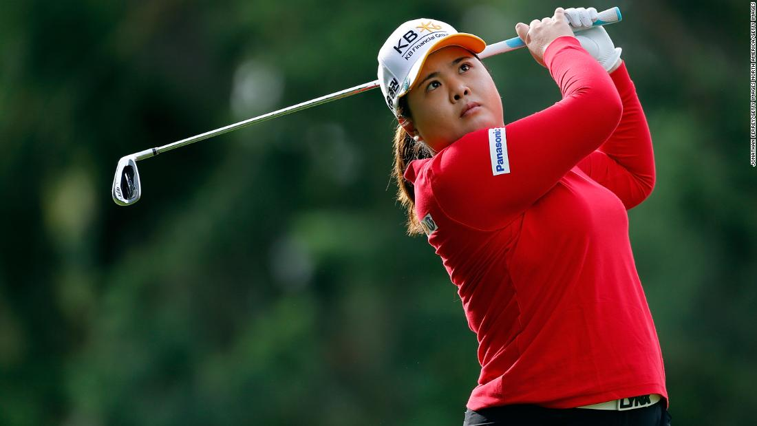 Inbee Park is another of South Korea's many elite female golfers. She is a seven-time major winner and has been at the top of the sport for much of the past 10 years.