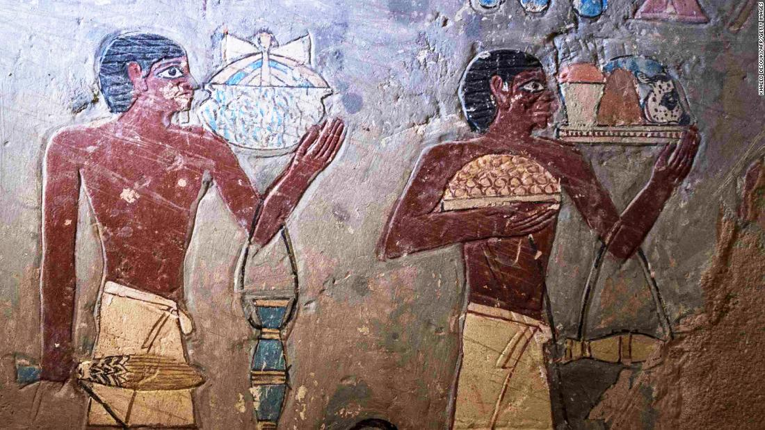 Egypt opens up incredible 4,000-year-old tomb