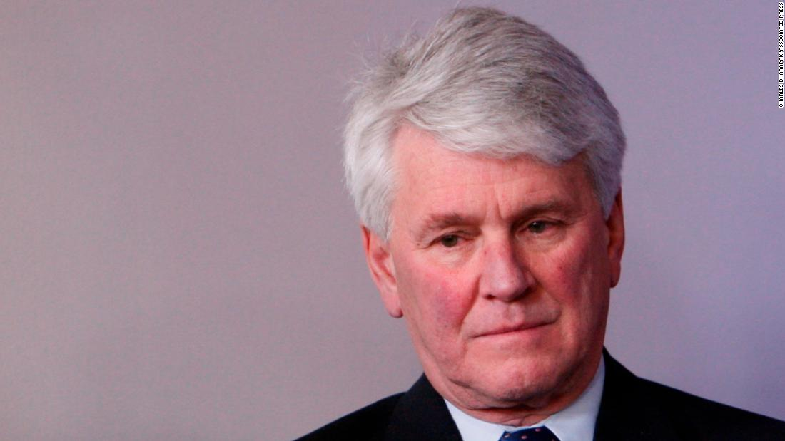Prominent Democratic lawyer Greg Craig close to being charged in case stemming from Mueller probe