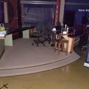 Weatherman cuts broadcast, evacuates TV station