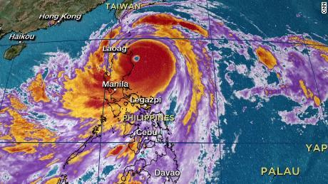 China and Hong Kong battered by Typhoon Mangkhut and dozens killed