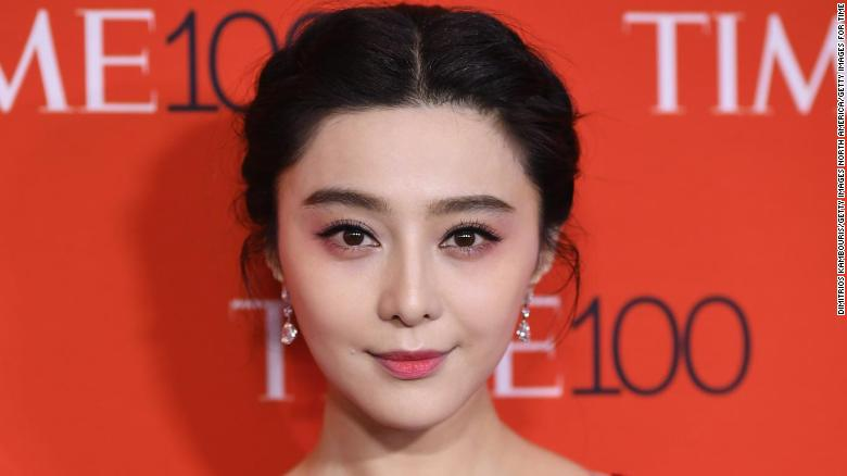 Actress Fan Bingbing attends the 2017 Time 100 Gala at Jazz at Lincoln Center on April 25, 2017 in New York City.