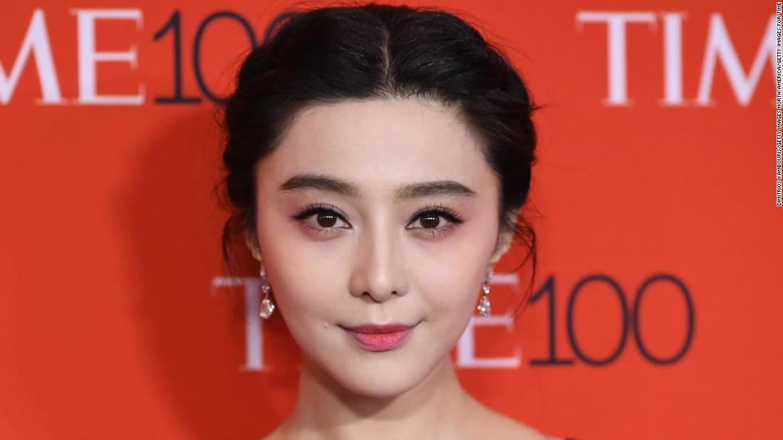 Fan Bingbing reappears in public for the first time in almost a year