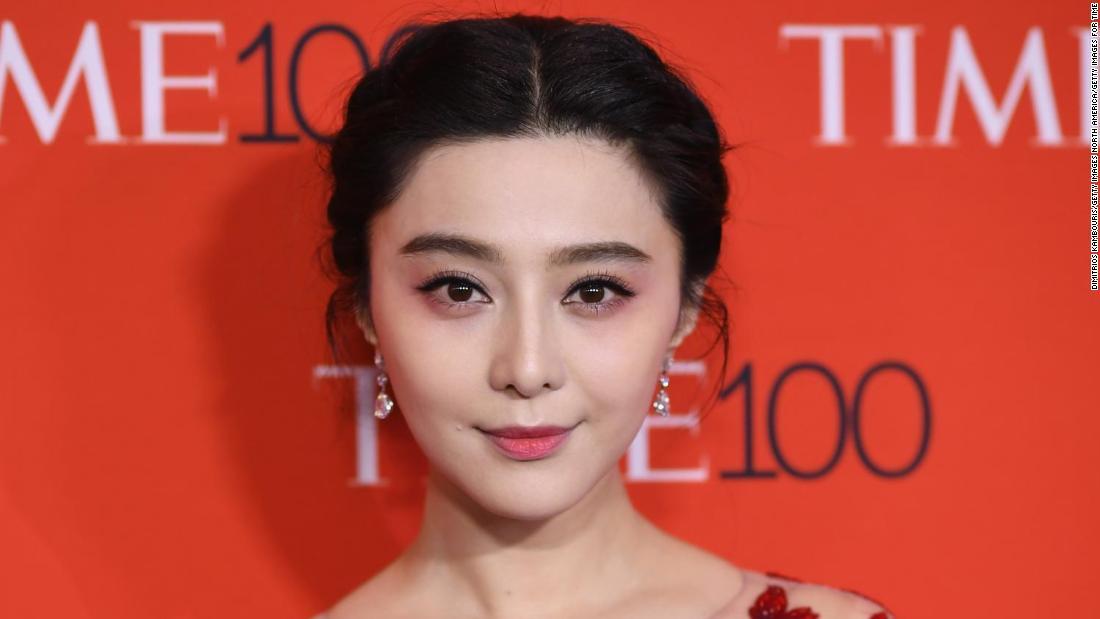 Missing Chinese Actress Fan Bingbing Resurfaces Owing