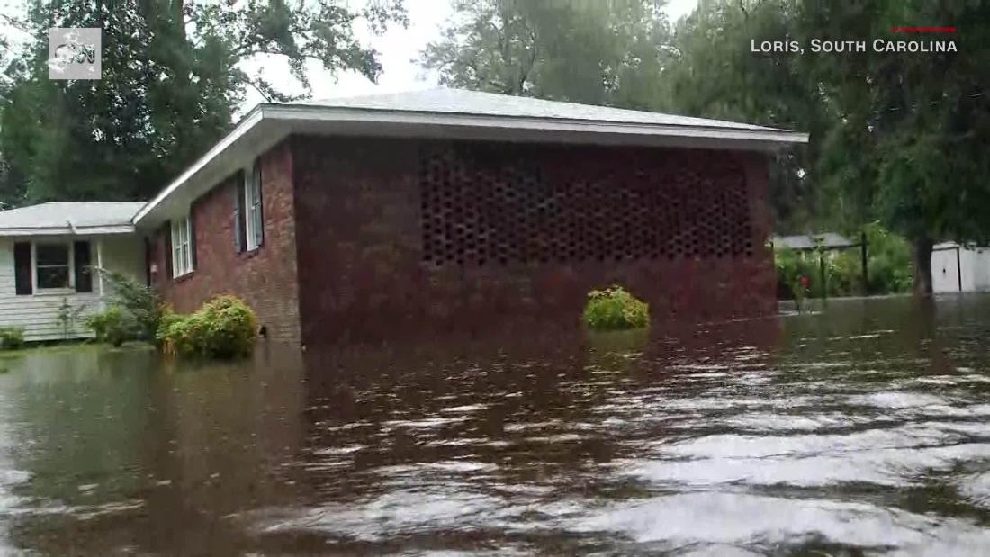 Florence kills 5, including infant, in North Carolina, officials say
