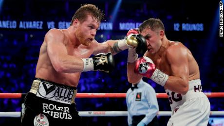 d2055e296e64 Canelo Alvarez and Gennady Golovkin traded punches for twelve rounds on  Saturday.