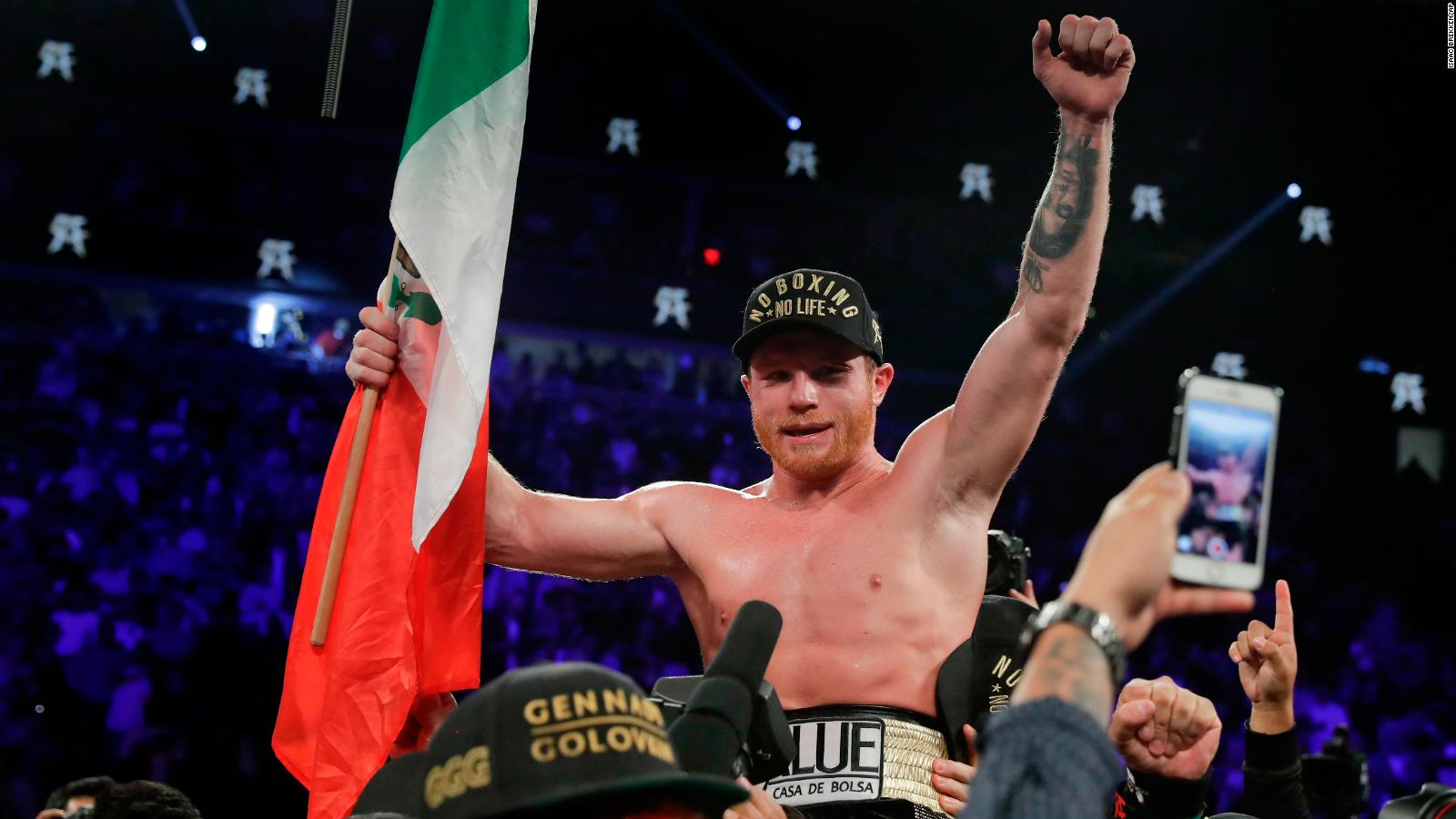 Canelo Alvarez Defeats Ggg In Middleweight Match Cnn