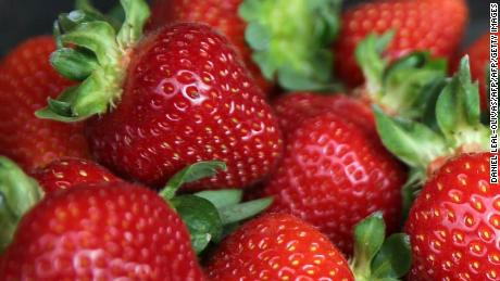 "The Australian health minister said the contamination of strawberries was a ""vicious crime."""