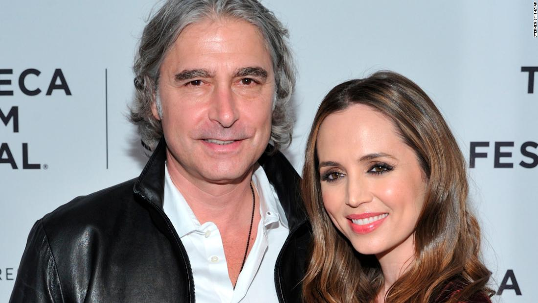 "Actress  Eliza Dushku revealed in September that she had married real estate executive Peter Palandjian in August. The ""Buffy the Vampire Slayer"" star posted photos from their 8/18/18 wedding on <a href=""https://www.instagram.com/p/Bny0LB8DhAO/?hl=en"" target=""_blank"">her official Instagram account. </a>"