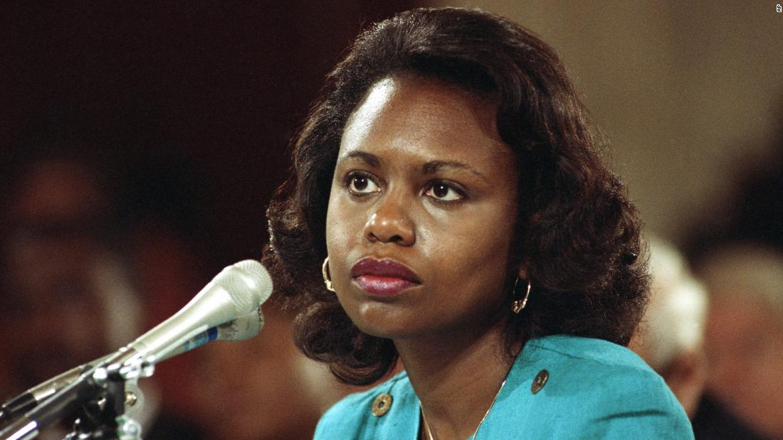 Anita Hill says voters need to press 2020 Democrats on gender violence