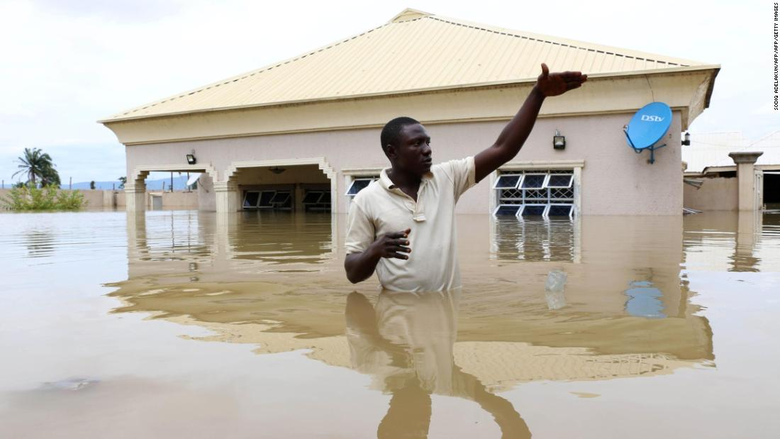 Nigeria declares 'national disaster' after floods kill 100