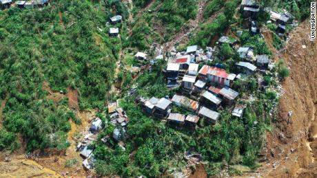Dozens of people from the mining town of Itogon are missing, believed buried by a landslide.