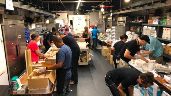 """""""Our kitchens don't just serve meals, they serve hope,"""" Andrés' team tweeted."""