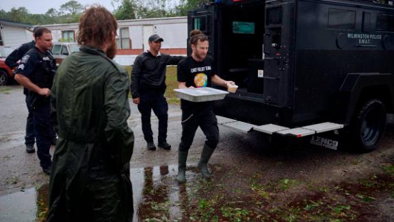 """""""When food must be delivered, sometimes you need to call in SWAT!,"""" Andrés tweeted."""