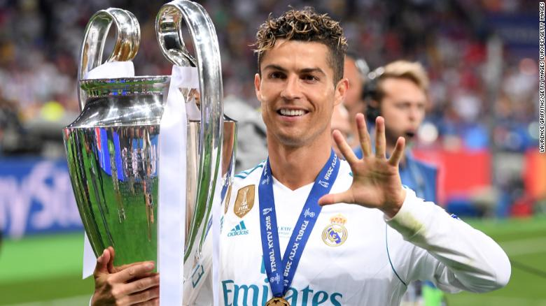 Cristiano Ronaldo is looking to add to his tally of five Champions League titles.