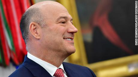 WASHINGTON, DC - MARCH 20:  Outgoing White House chief economic adviser Gary Cohn attends a meeting with President Donald Trump and the Crown Prince Mohammed bin Salman of the Kingdom of Saudi Arabia in the Oval Office at the White House on March 20, 2018 in Washington, D.C.  (Photo by Kevin Dietsch-Pool/Getty Images)