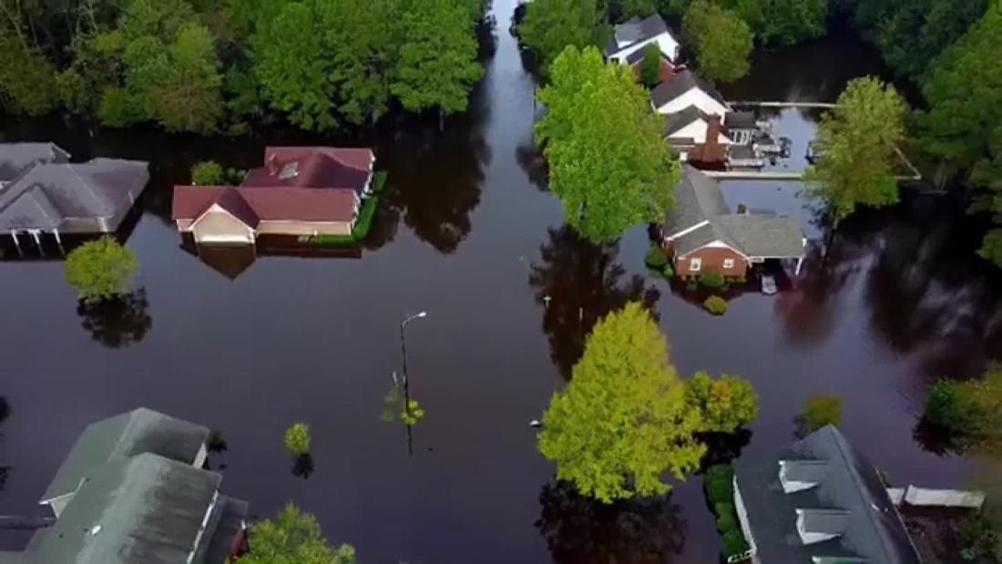 Carolinas still menaced by floodwaters as Trump tours Florence 'nightmare' aftermath thumbnail