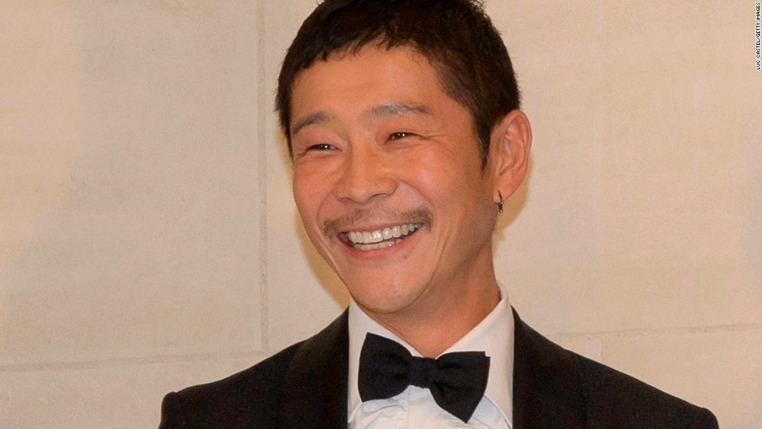 Ein Japanischer Milliardär ist auf der Suche nach einem
