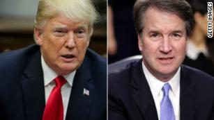 Aides quietly stunned by Trump's respectful handling of Kavanaugh accuser