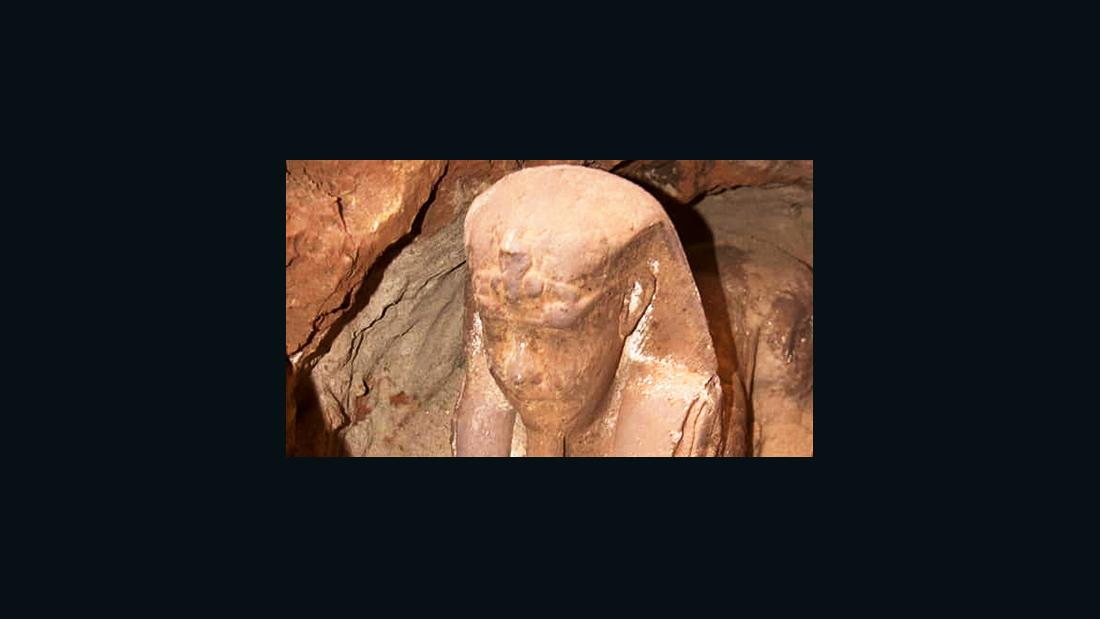 New sphinx uncovered in Egypt