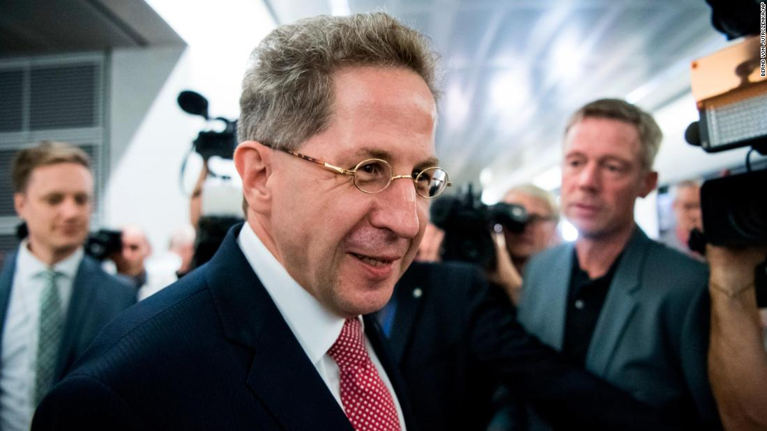 Under-fire German spy chief's 'promotion' sparks outrage