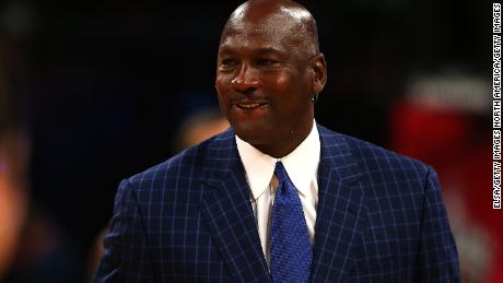 TORONTO, ON - FEBRUARY 14:  NBA hall of famer and Charlotte Hornets owner Michael Jordan walks off the court during the NBA All-Star Game 2016 at the Air Canada Centre on February 14, 2016 in Toronto, Ontario. NOTE TO USER: User expressly acknowledges and agrees that, by downloading and/or using this Photograph, user is consenting to the terms and conditions of the Getty Images License Agreement.  (Photo by Elsa/Getty Images)