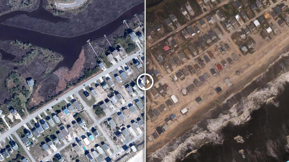 Hurricane Florence Before And After Aerial Photos Show
