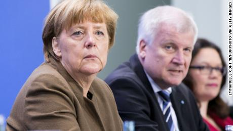 German Chancellor Angela Merkel, Interior Minister Horst Seehofer and SPD leader Andrea Nahles were criticized after they promoted disgraced spy chief Hans-Georg Maassen.