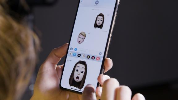 The Memoji feature lets you customize an animated emoji cartoon to look like you.