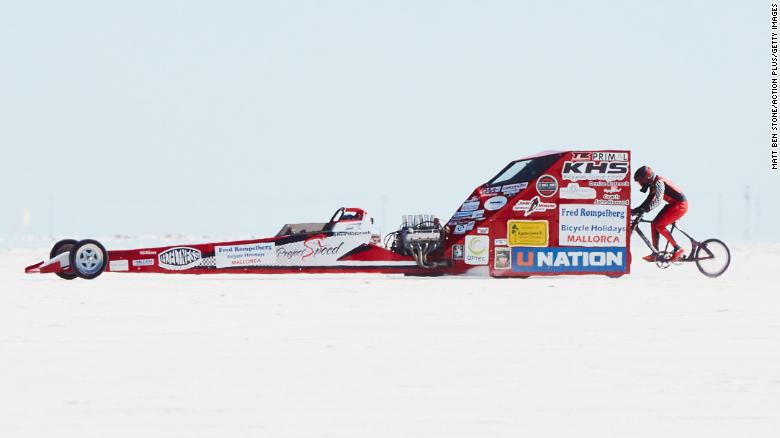 AuBergewohnlich Denise Mueller Korenek Attempting To Break The Cycling World Land Paced  Bicycle Land Speed Record On