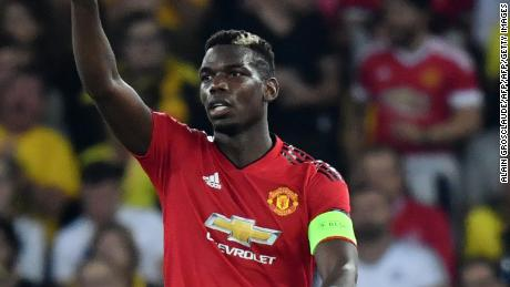 Pogba has been criticized for talking too much in the media