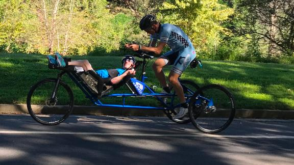 Kyle and Brent have spent the most time preparing for the bicycle stage for Kona.