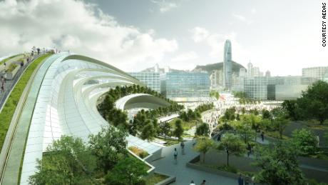 Controversial high-speed rail station opens in Hong Kong