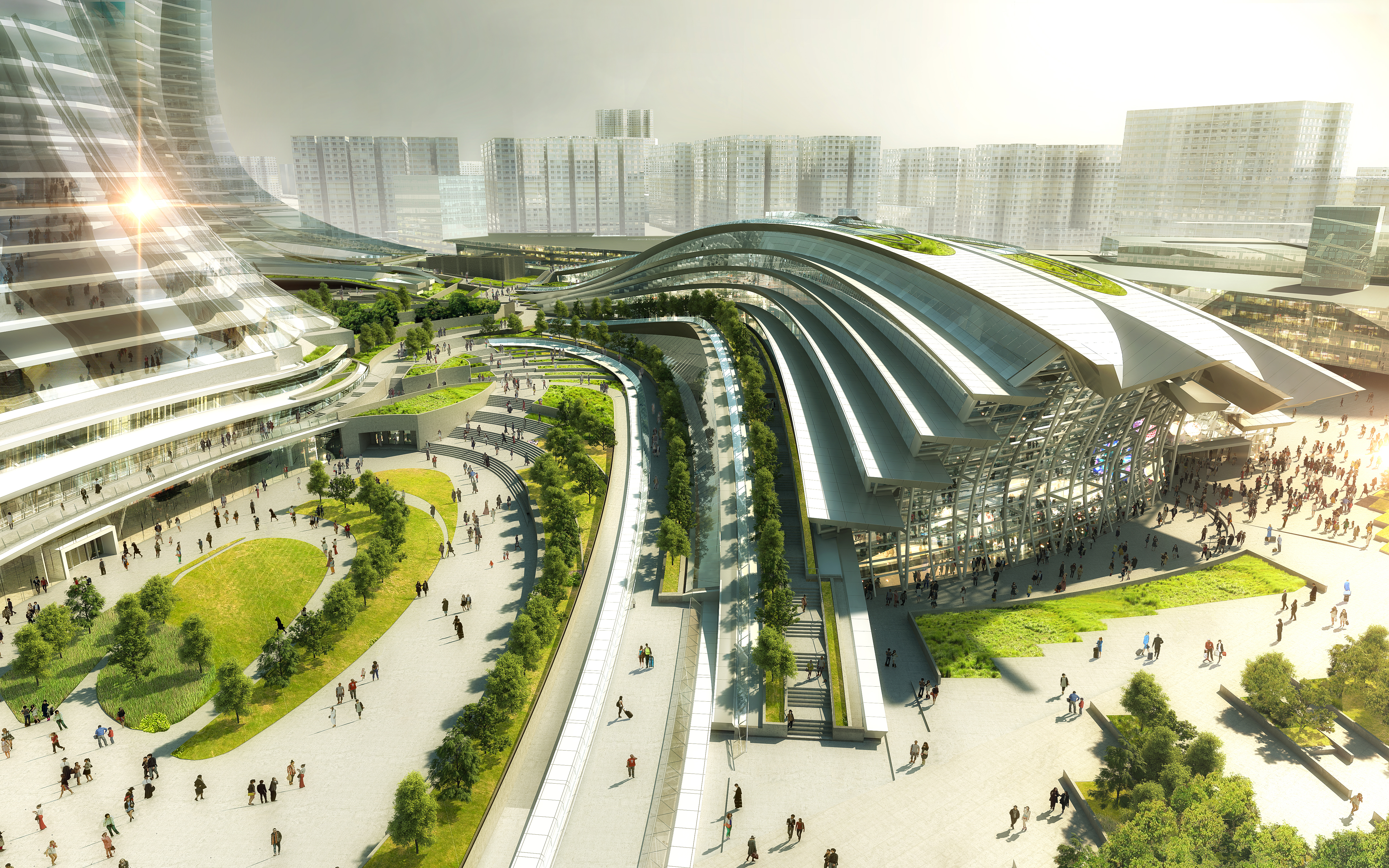 west kowloon high speed rail station opens in hong kong cnn style