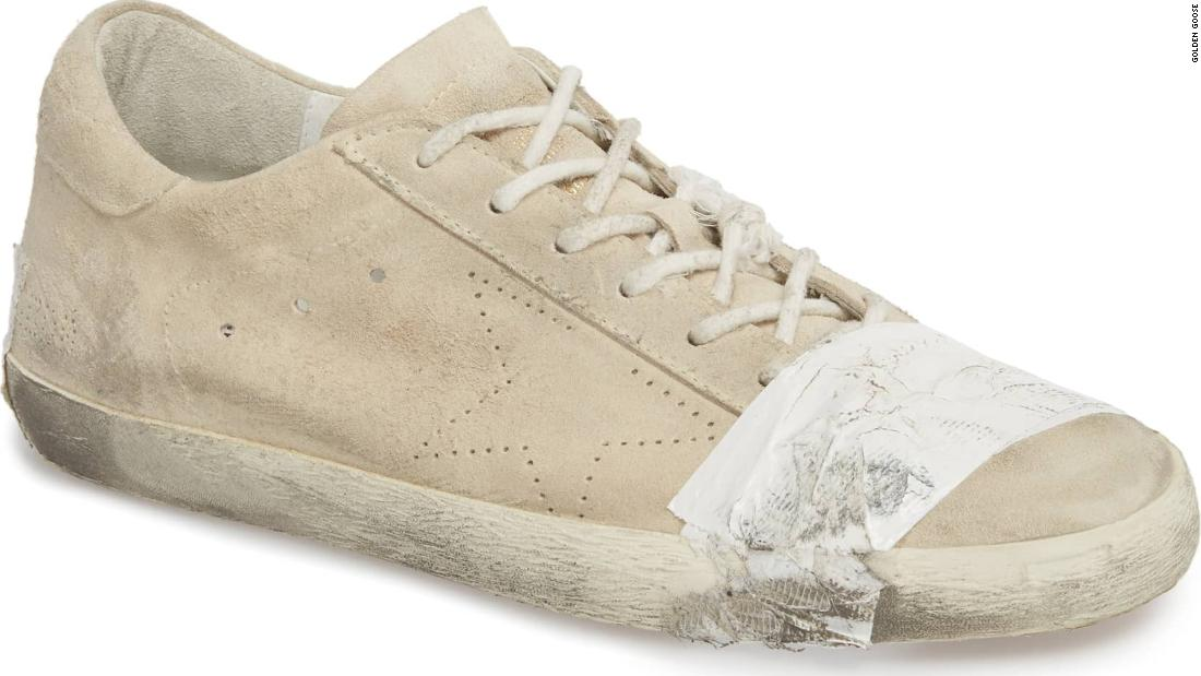 premium selection 86d24 969d9 Grungy, taped-up  530 sneakers face charges of glorifying poverty - CNN