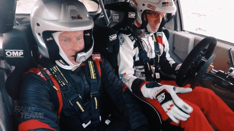 Road-testing the Yaris WRC