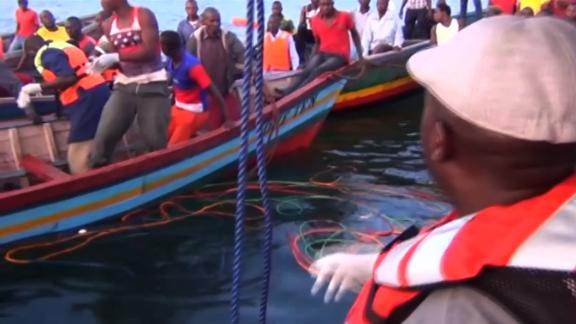 Lake Victoria ferry sinking.