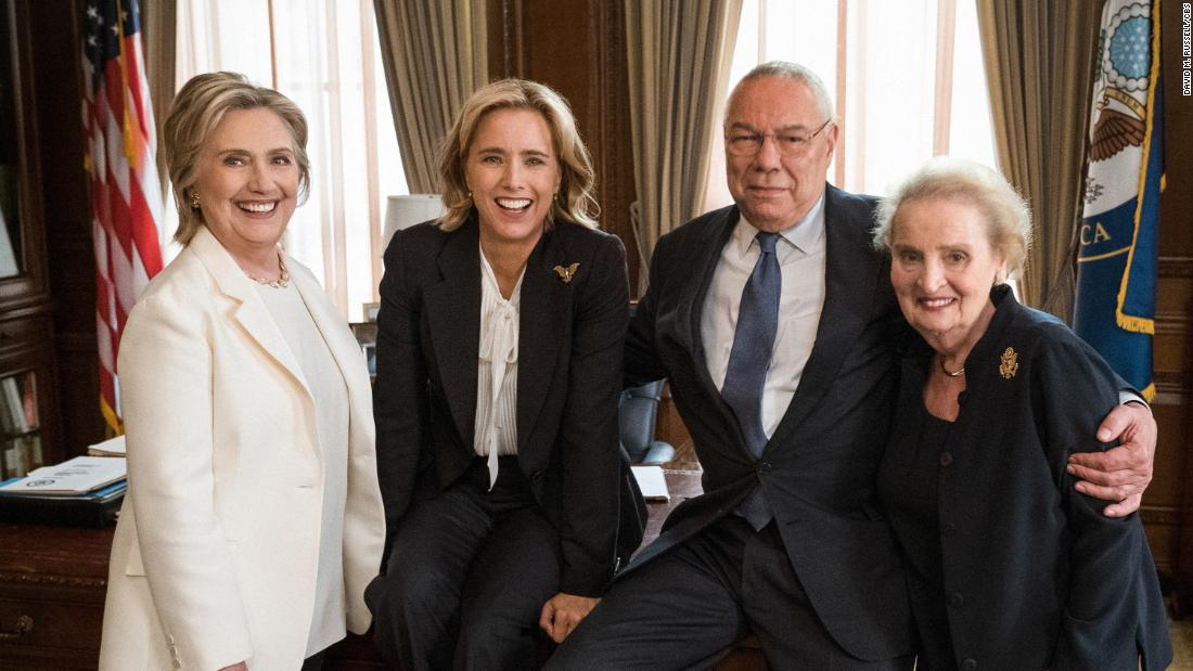 Clinton, Powell, Albright guest star on 'Madam Secretary'