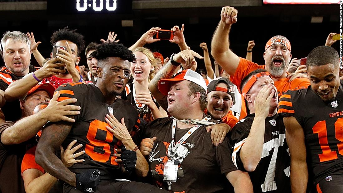 Cleveland Browns win after 635 days, spark wild ...