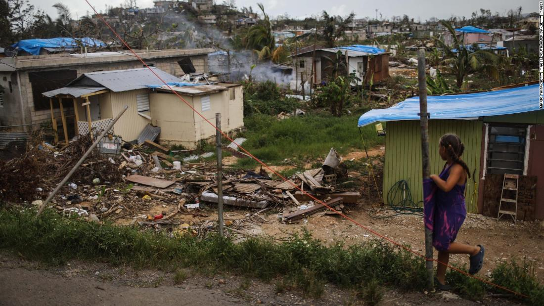 Puerto Rico received lopsided hurricane disaster aid compared to Texas and Florida, study says