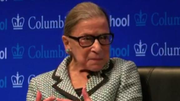 Ruth Bader Ginsburg at Columbia Law School