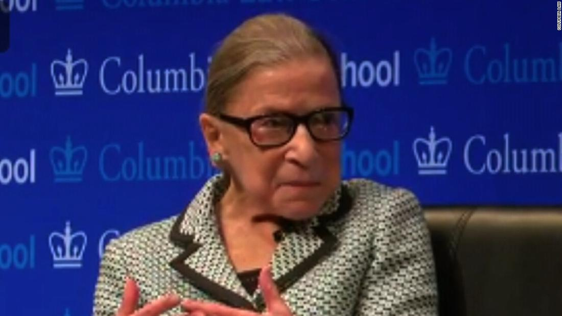 Ruth Bader Ginsburg speaks at naturalization ceremony on the anniversary of Bill of Rights signing