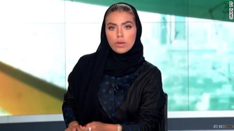 Saudi woman becomes first female news anchor