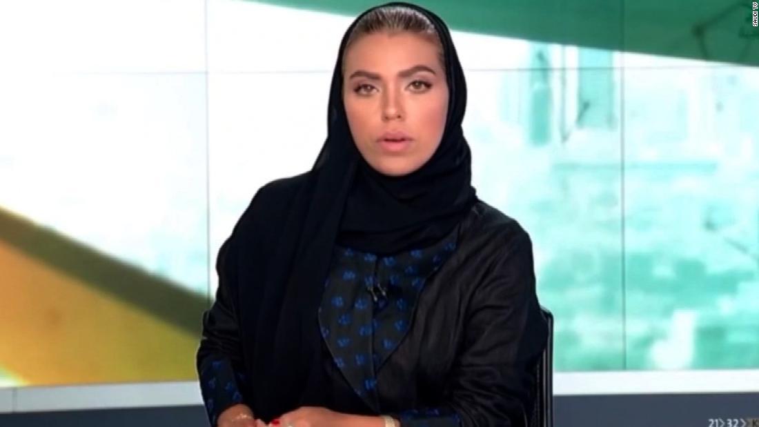 Saudi Woman Becomes First Female News Anchor Cnn Video