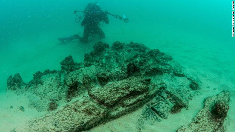 Maritime archaeologists found the wreck off the coast of Cascais, near the Portuguese capital, Lisbon
